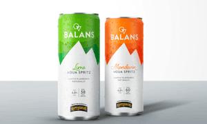 Balans Mandarin Aqua Spritz hard seltzer