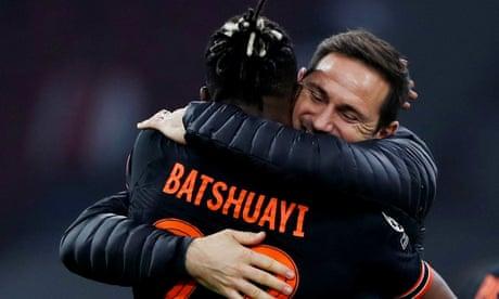 Frank Lampard denies pressure to pick Batshuayi and Giroud at Chelsea