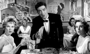 Peggy Cummins, left, in The Captain's Table, 1959.