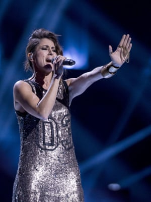 Barei of Spain performs 'Say Yay!'