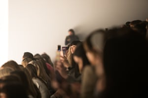 The crowd at at the NextGen Fashion show