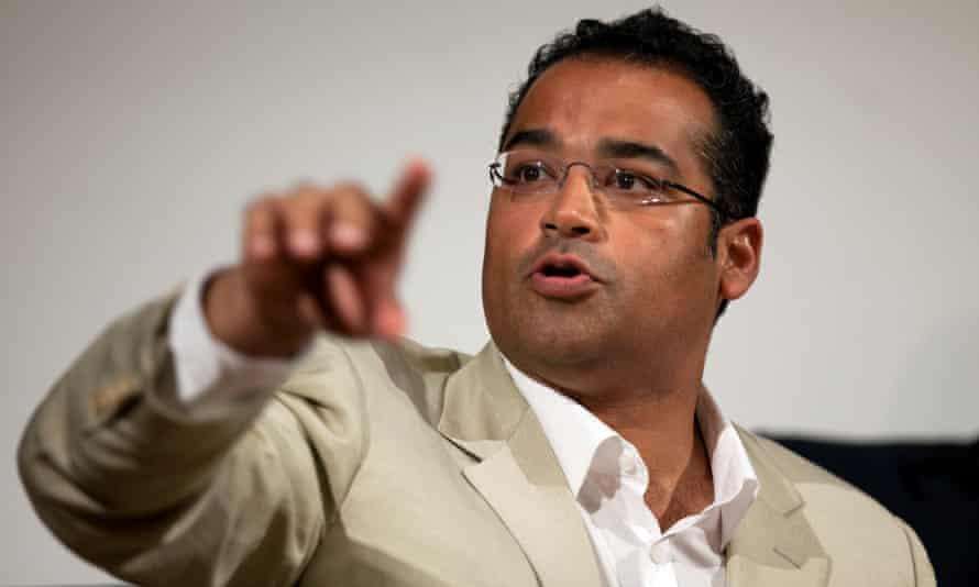 Diversity: Channel 4 News presenter Krishnan Guru-Murthy.