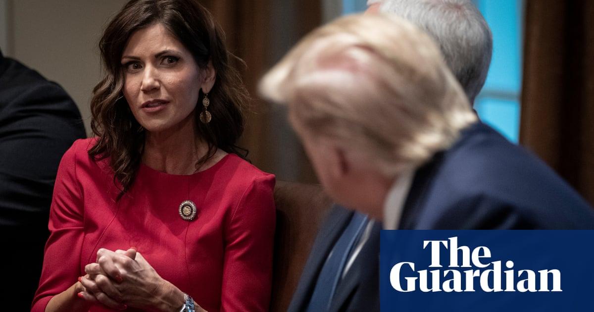 Kristi Noem rigidly follows Trump strategy of denial as Covid ravages South Dakota – The Guardian