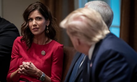 South Dakota governor Kristi Noem said she is not in favor of the races going ahead