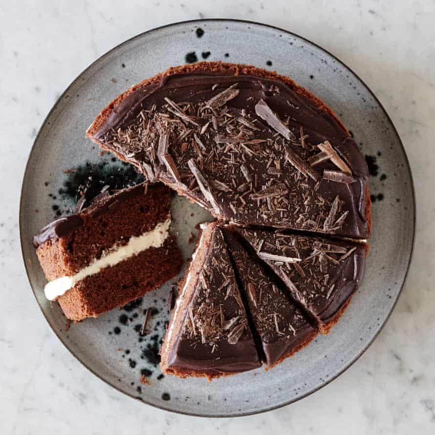 Mary Berry's milk chocolate cake.