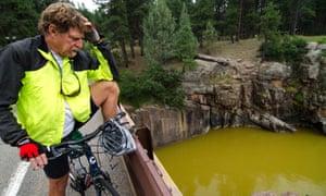Colorado river sludge