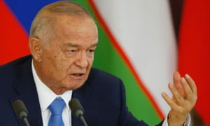 Islam Karimov in Moscow in April.