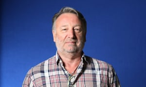 'We're a bunch of fat old men arguing'... Peter Hook pictured in 2013.