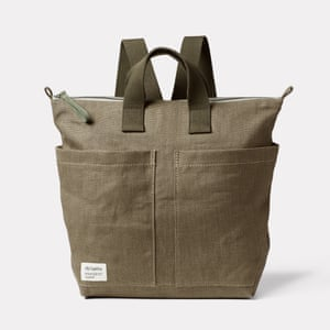 Natural selection Ally Capellino is launching a vegan-friendly backpack with hemp farming pioneers Margent Farm. £235, allycapellino.co.uk