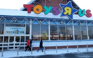 A Toys R Us store in Stockport.