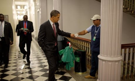 Pete Souza: photographing the real Barack Obama
