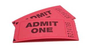 Tickets - Admit One