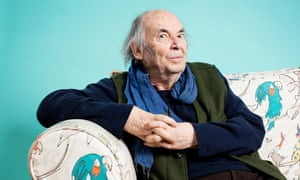Quentin Blake. Photographed inside his office. London. Photograph by David Levene 21/11/19