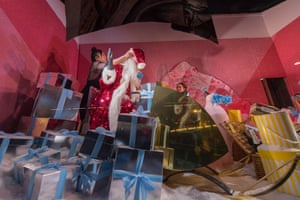 Presents in the window …