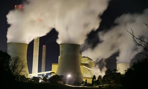 A coal-fired power station in Australia