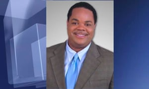 Vester Lee Flanagan, who was known on-air as Bryce Williams, in a handout photo from TV station WDBJ7.