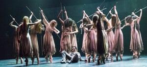 Transfixing … Cesar Corrales as Hilarion in Akram Khan's Giselle.