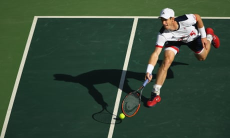 Andy Murray recovers in time to tame Fabio Fognini in Olympics third round
