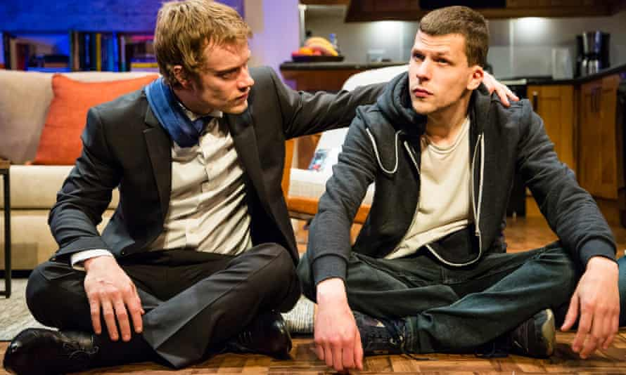 'Jibes and jokes': Alfie Allen and Jesse Eisenberg in The Spoils.