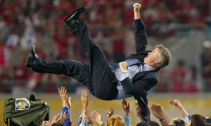 Guus Hiddink at the 2002 World Cup