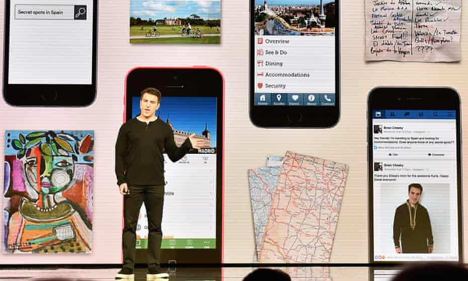 Airbnb CEO Brian Chesky launches the Trips programme in Los Angeles