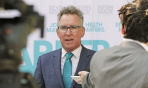 Independent Kevin Mack is running for the safe Liberal seat of Farrer.