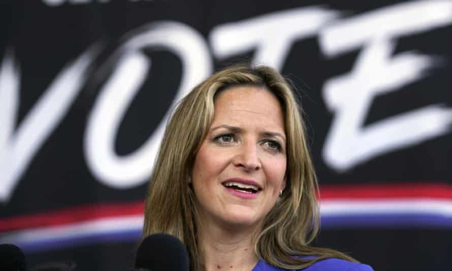 Jocelyn Benson, the Michigan secretary of state. Officials last month certified the state's election results that showed Biden defeated Trump.