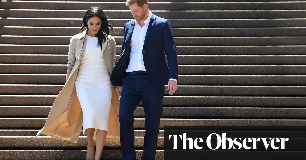 US fans of The Crown are loving the Harry and Meghan royal soap opera