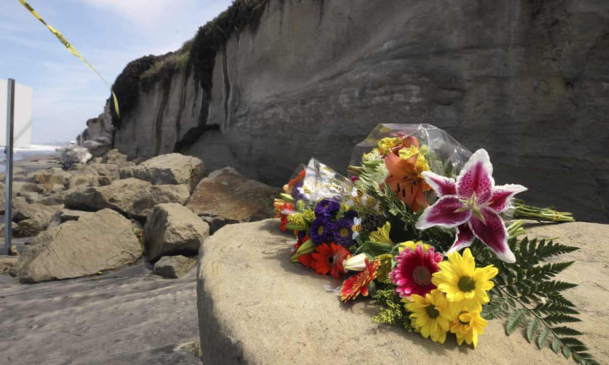 Three women killed in cliff collapse were from same family