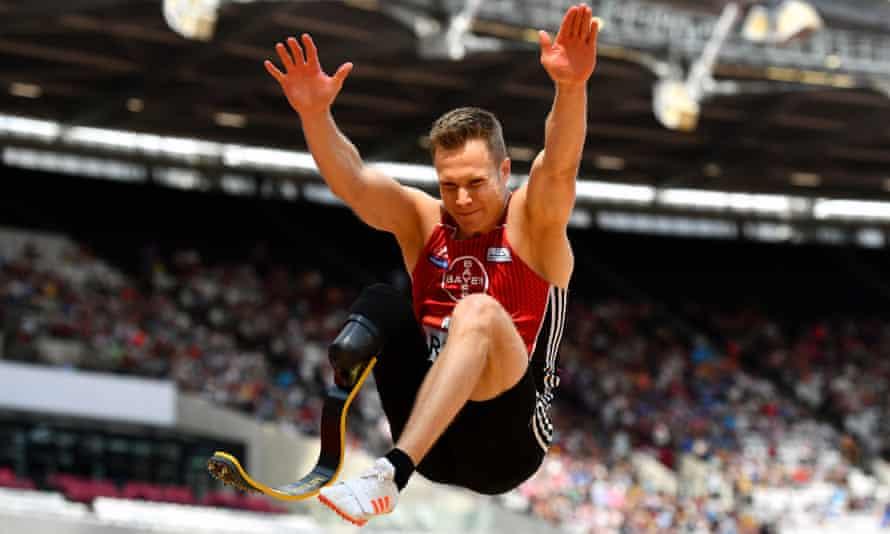 Markus Rehm, the 'blade jumper'