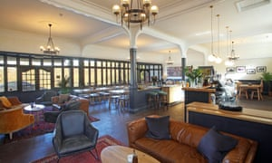 bar brasserie, Hafod Hotel, Wales
