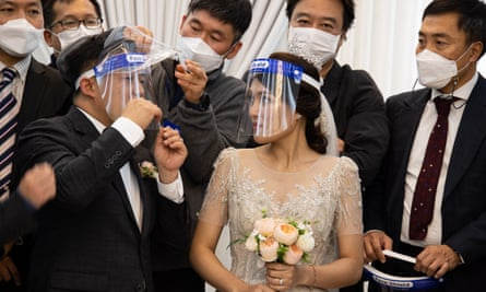 A wedding in Seoul, South Korea, in October.