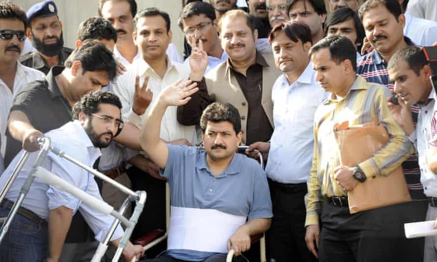 Pakistani journalist Hamid Mir