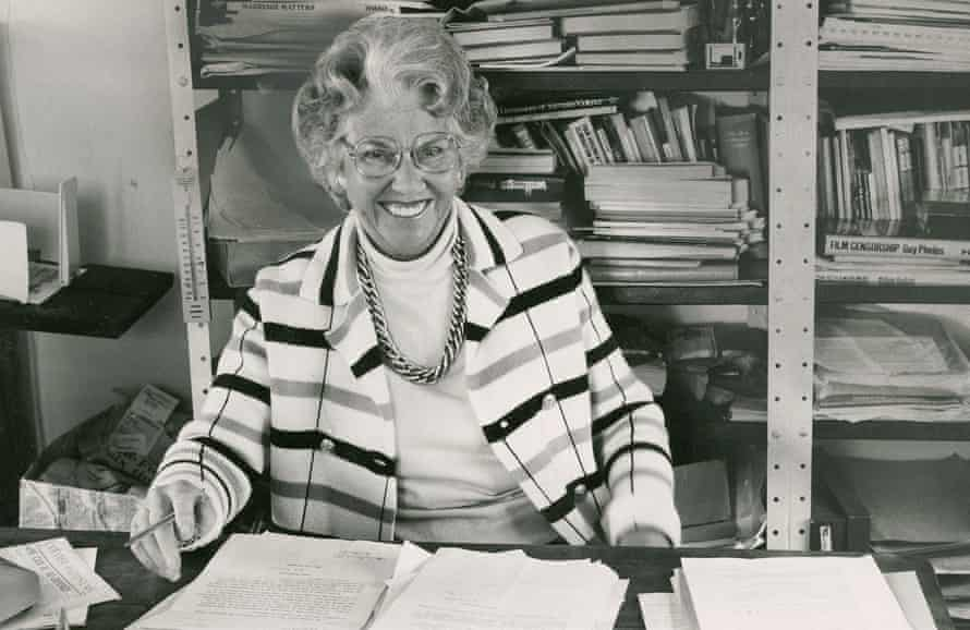 Mary Whitehouse in 1985