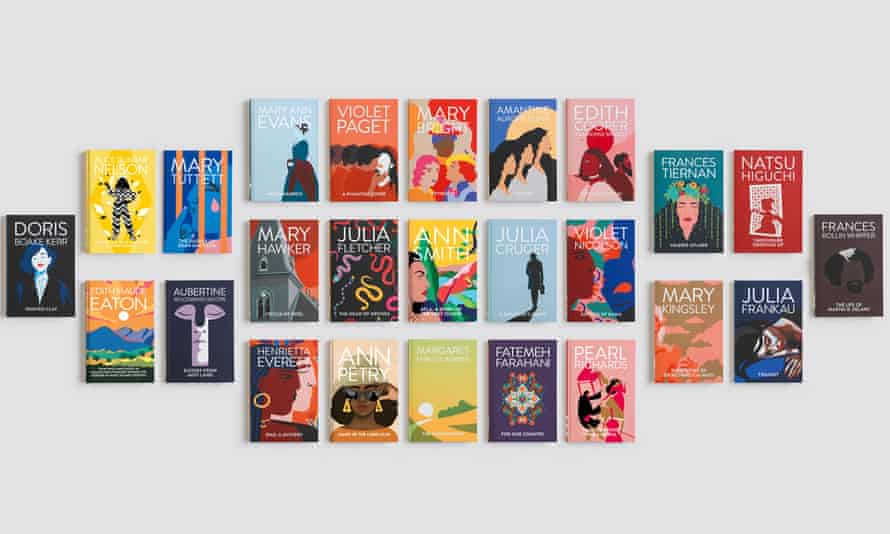 Talking point … the 25 books in the Reclaim Her Name series.