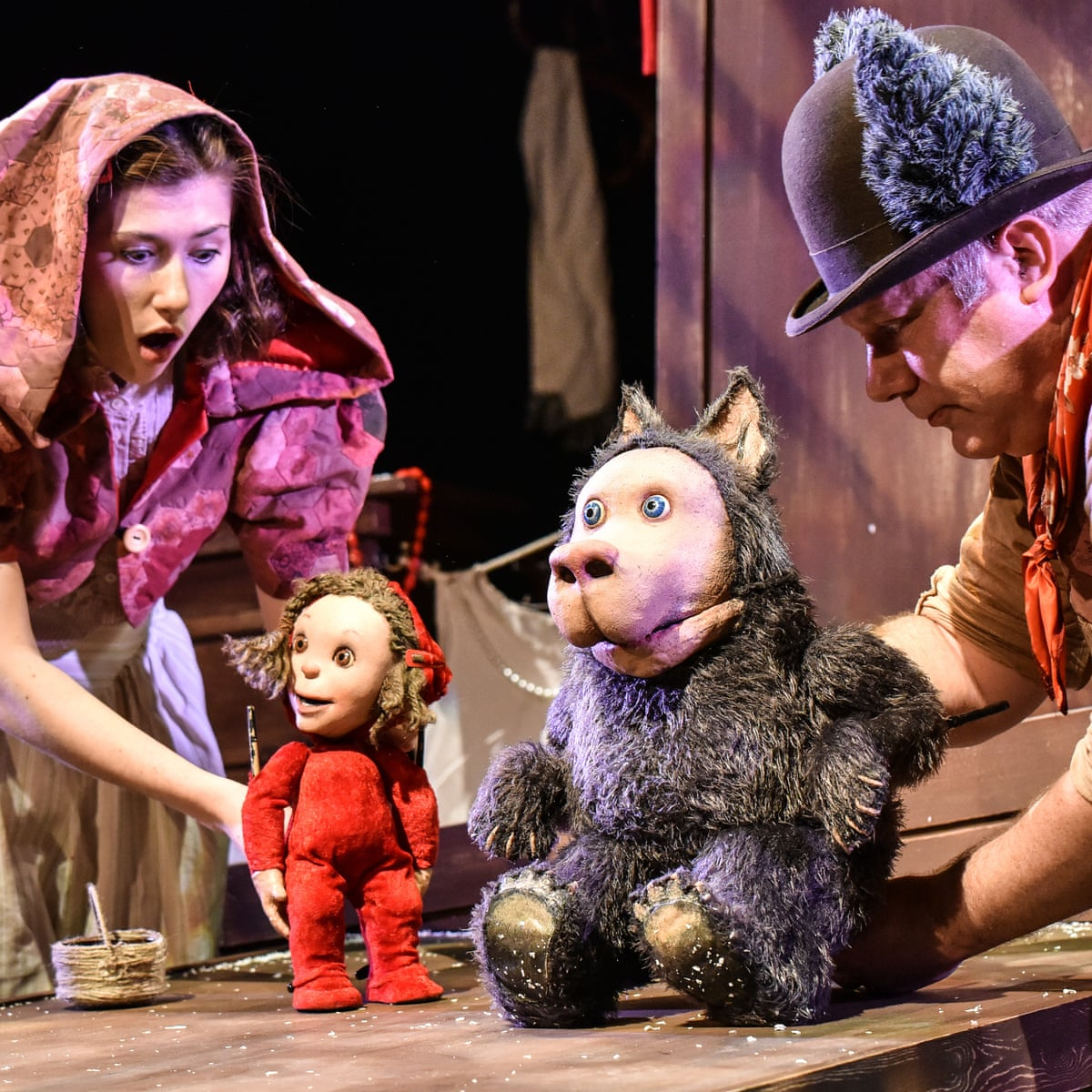Little Red Riding Hood Review My What Big Imaginations They