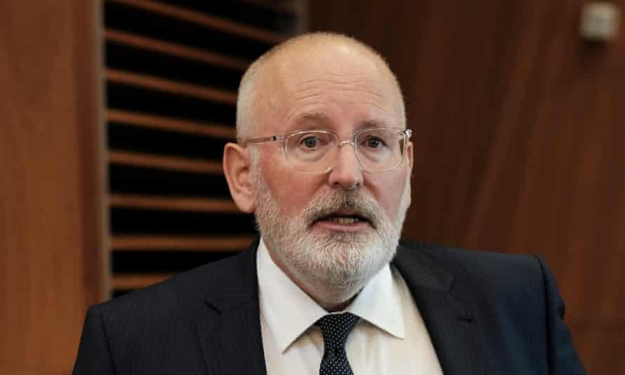 Timmermans said the British were 'completely flabbergasted' that the German car industry did not demand that Angela Merkel should give in to all the UK's demands.