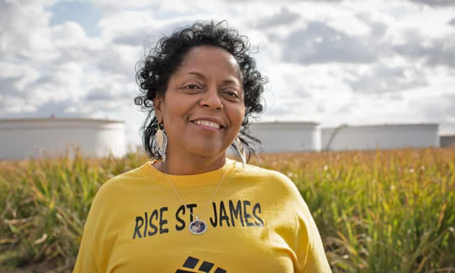 Sharon Lavigne, US winner of the Goldman environmental prize: 'They let these companies come into our Black and brown neighborhoods when they know this stuff is killing us.'