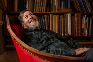 Illustrator Jan Pienkowski at home in Barnes, London Picture - Copyright - David Bebber