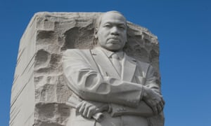 Martin Luther King's monument in Washington DC