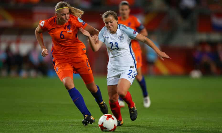 Fran Kirby in action during the Euro 2017 semi-final defeat to Netherlands.