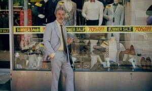 Imagine Serge Gainsbourg as a London wide boy ... Baxter Dury