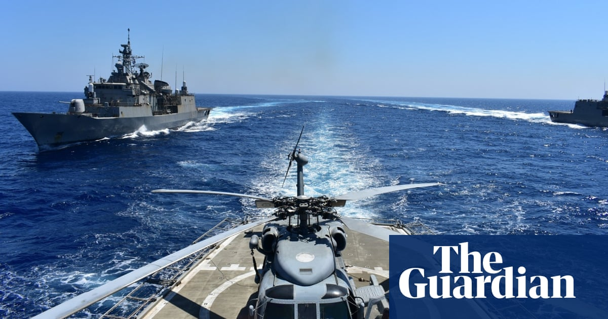 Greece and Turkey in talks to try to avert military escalation - the guardian