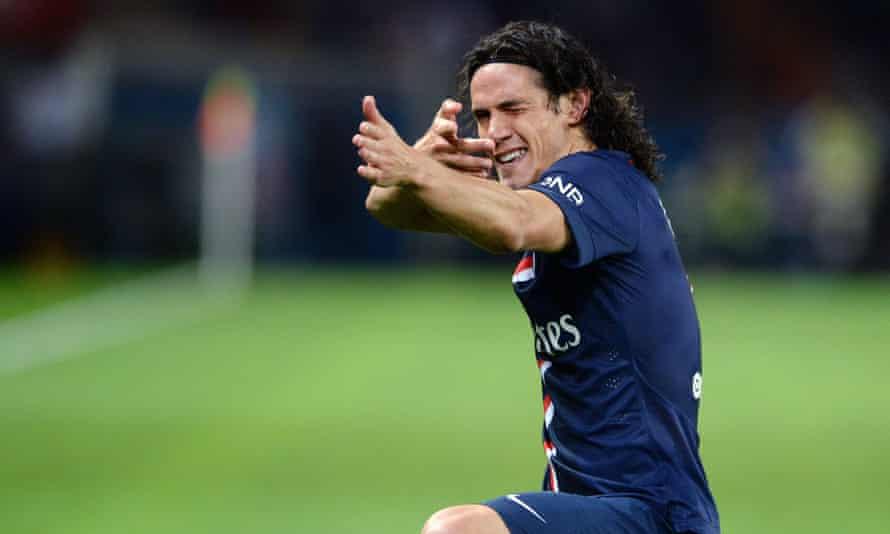 The Paris Saint-Germain striker Edinson Cavani has been a long-term target of the Manchester United manager, Louis van Gaal.