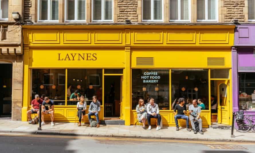 Laynes yellow exterior