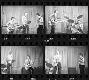 The Sex Pistols at the Nashville in London, on 3 April 1976 by PT Madden.