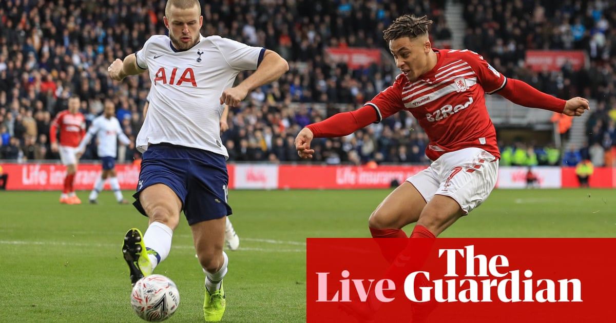 Middlesbrough v Tottenham: FA Cup third round – live!