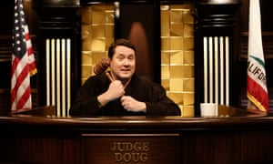 High court drama: Doug Benson precedes.