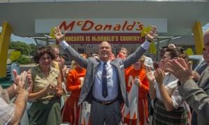 Not immediately dislikable … Michael Keaton in The Founder.