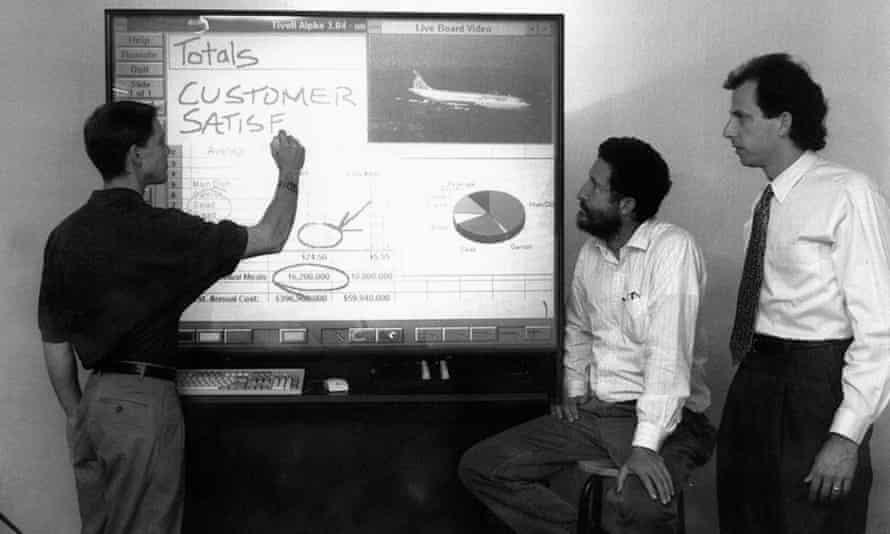 The Xerox Palo Alto research design team in 1993.